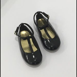 "GAP Black ""Patent"" Mary Jane Shoes"